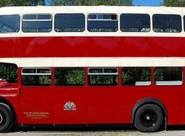 Double deck wedding bus hire in Basingstoke